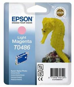 Inkoust Epson T0486 light magenta | Stylus Photo R200/220/300/320/340,RX500/600/