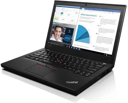 "Lenovo ThinkPad X260 i5-6200U/8GB/256GB SSD/HD Graphics 520/12,5""FHD IPS/W10PRO/Black"