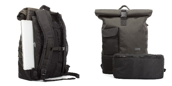 Crumpler The Trooper - charcoal / black