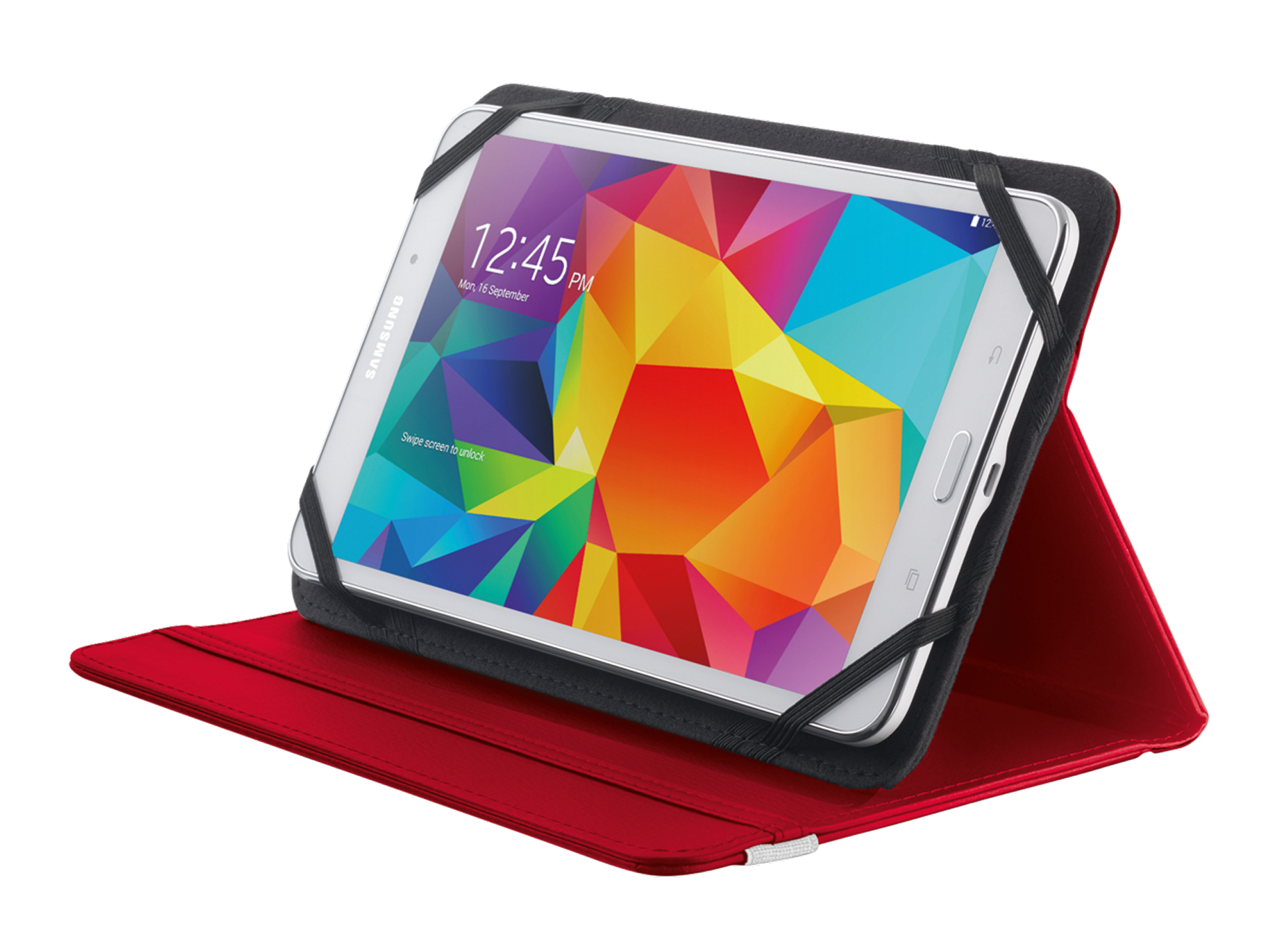 "TRUST Pouzdro na tablet 7-8"" Primo Folio Stand for tablets - červené,red"