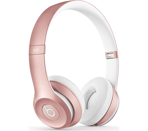 Apple Beats by Dr. Dre Solo 2 Wireless On-Ear Headphones - Rose Gold