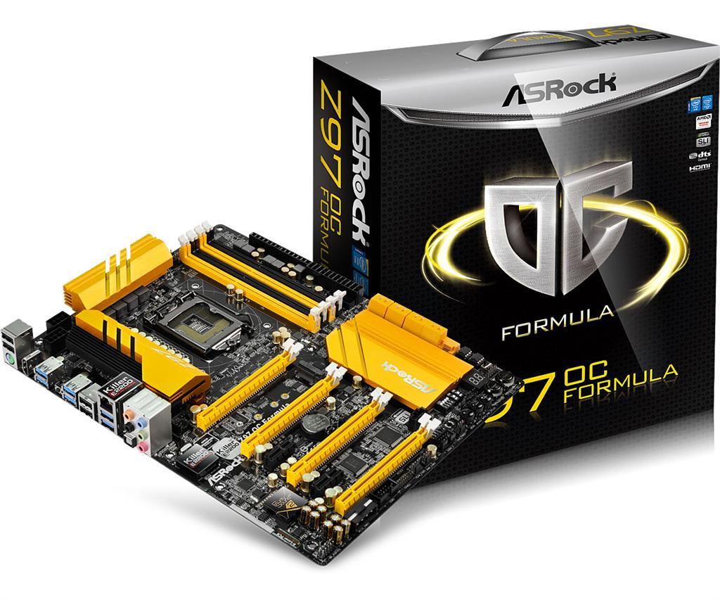 ASRock Z97 OC FORMULA, Z97, DualDDR3-1866, SATA3, SATAe, RAID, HDMI, ATX