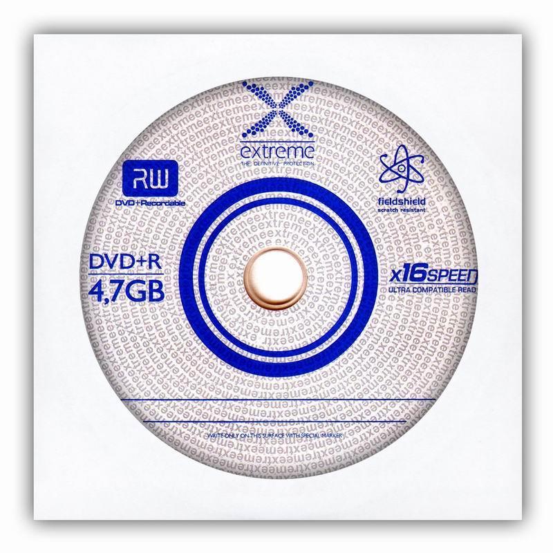 Extreme DVD+R [ obálka 1 | 4.7GB | 16x ]