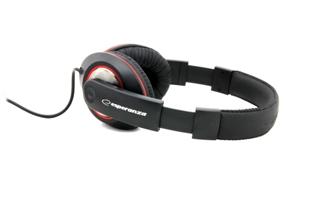 Esperanza EH121 HIP-HOP Stereo sluchátka, ovl. hlasitosti, 5m, černá