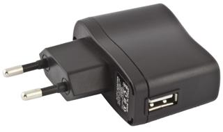 Titanum TZ105 Univerzální nabíječka do sítě USB | AC 220-240V | 5V | 800mA
