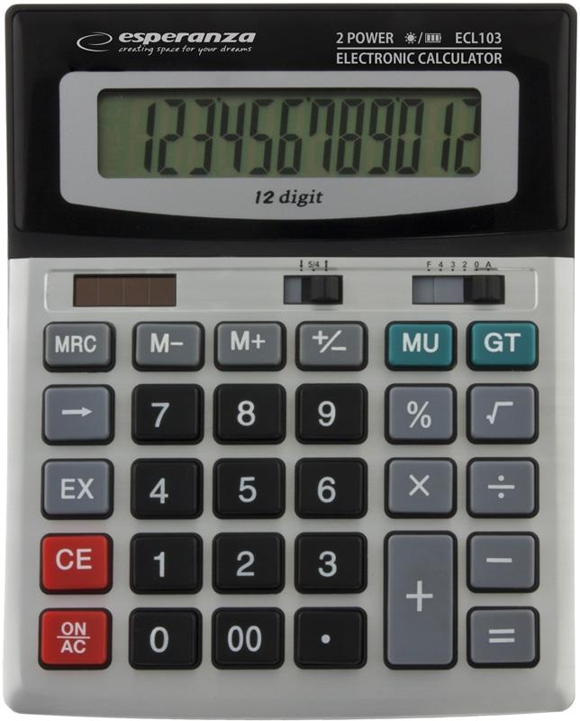 Esperanza ECL103 EULER Elektronická stolní kalkulačka