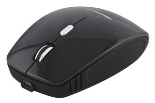 Esperanza EM121K bezdrátová optická myš, 1600 DPI, 2.4GHz, nabíjecí kabel, černá