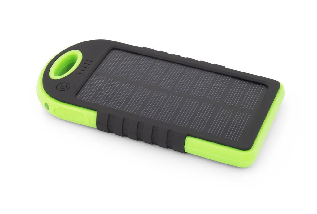 Esperanza EMP109KG SUN solární externí baterie 5200mAh, černo-zelená