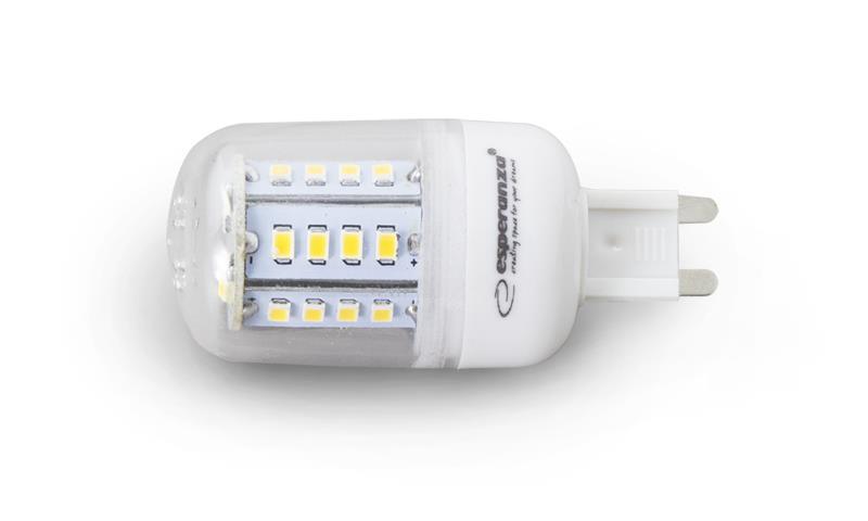 Esperanza ELL123 LED žárovka - G9 28LEDS / 5 W / lm 450 Led type 2835 CRI>80