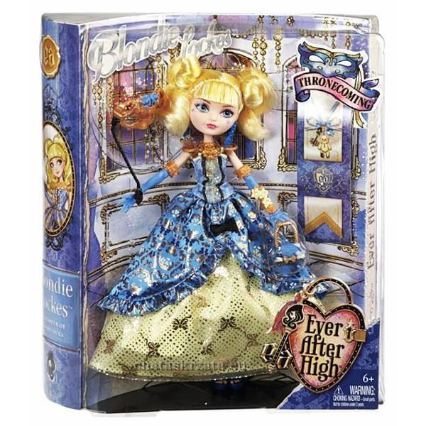 EVER AFTER High Coronation Blondie Lockes