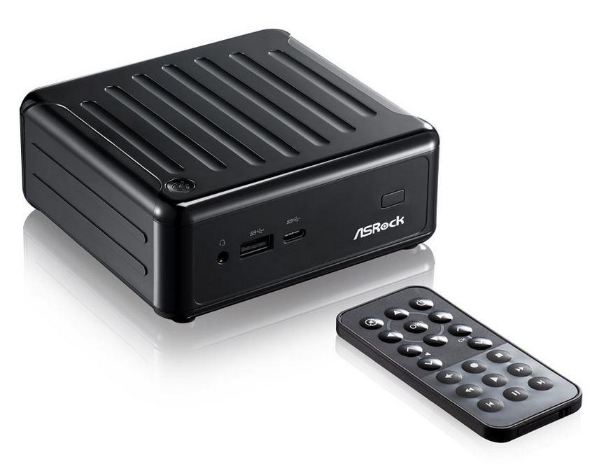 ASRock BEEBOX N3000-4G128S/B, N3000, 4GB DDR3L-1600, 128GB mSATA SSD, Black