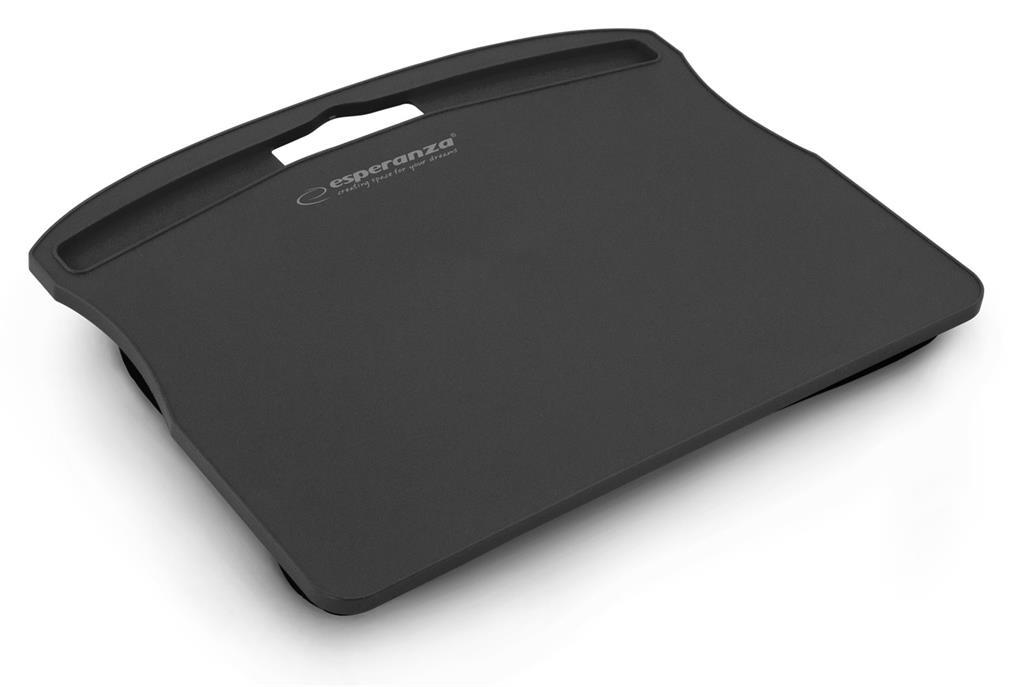 Esperanza EA151K CONNER podložka pod notebook na klín, černá