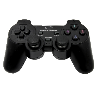 Esperanza EG102 WARRIOR gamepad s vibracemi pro PC/PS3, USB