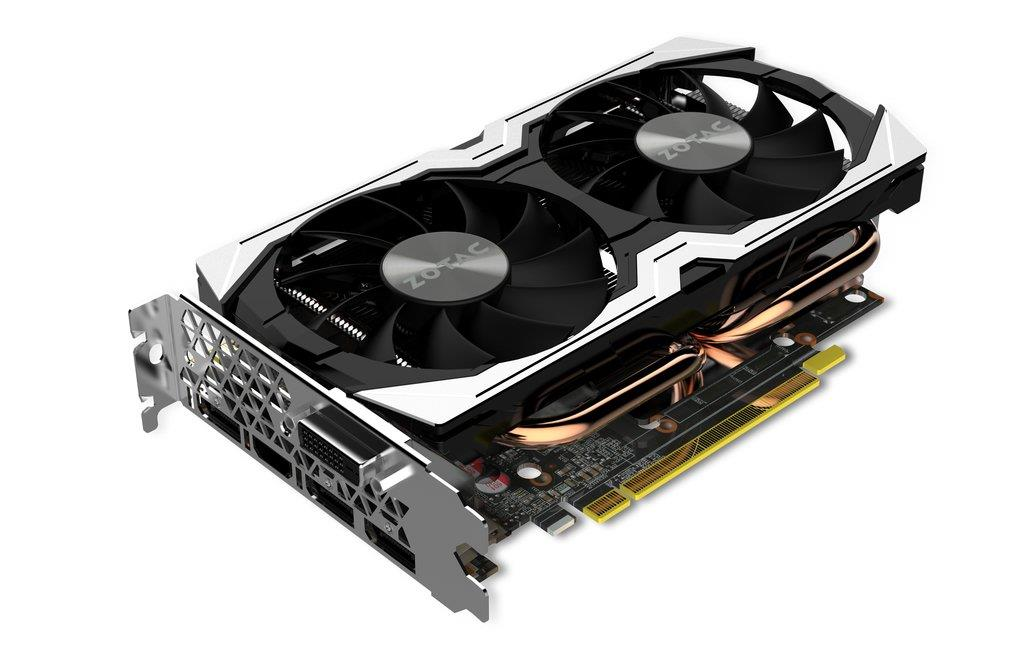 ZOTAC GeForce GTX 1070 Mini, 2x IceStorm, 8GB GDDR5 (256 Bit), Retail