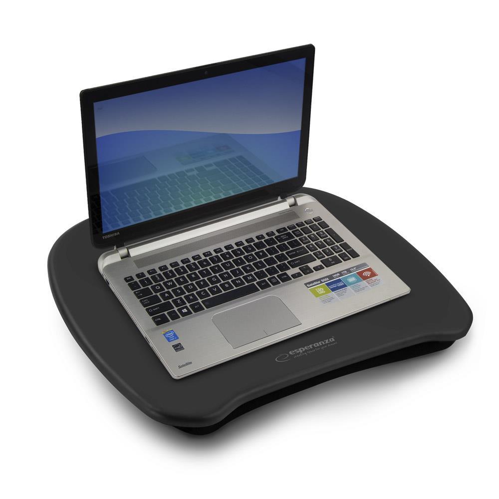 Esperanza EA155K DAMO podložka pod notebook na klín, černá