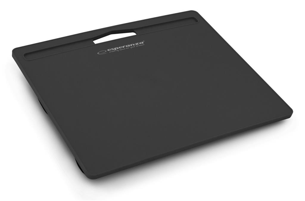 Esperanza EA152K BLUFF podložka pod notebook na klín, černá