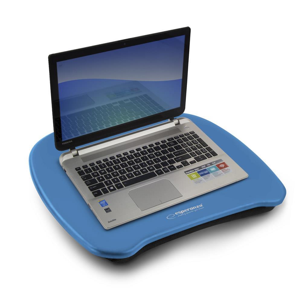 Esperanza EA155B DAMO podložka pod notebook na klín, modrá