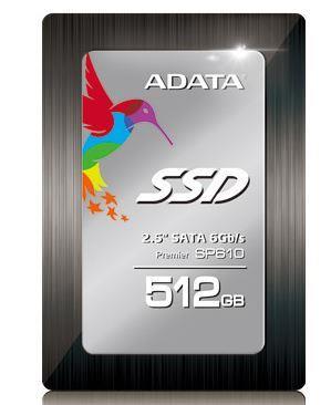 ADATA SSD Premier Pro SP610 512GB 2.5'' SATA3 (560MB/s;450MB/s) IOPS 73K