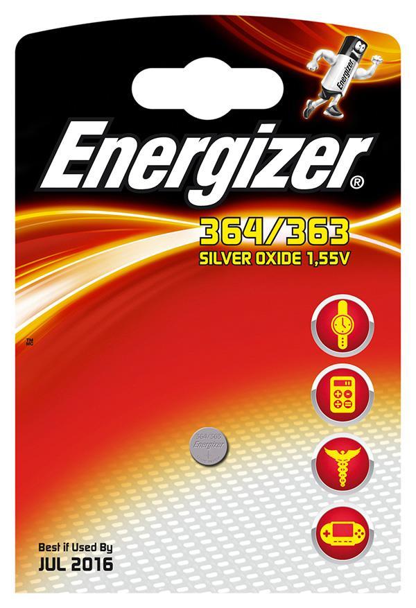 Baterie do hodinek , Energizer, 364/363