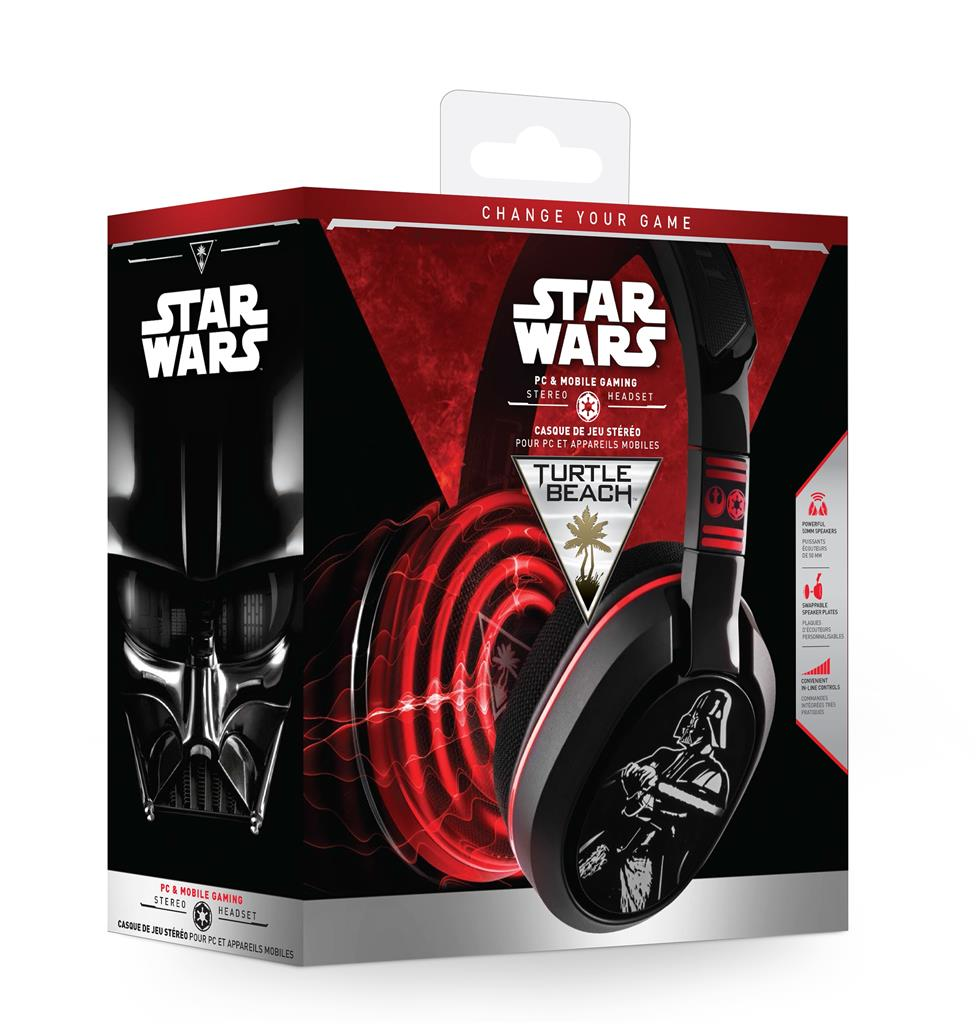 Turtle Beach EAR FORCE STAR WARS sluchátka s mikrofonem