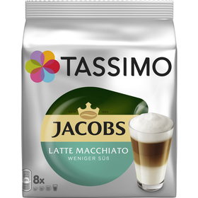 TASSIMO LATTE M. LESS SWEET JACOBS KRÖN.