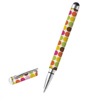 TRUST Byloo Stylus & Ballpoint Pen - Dots (pero pro dotykové displeje, kuličkové pero)