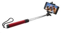 TRUST Bezdrátová tyčka na autoportréty Bluetooth Foldable Selfie Stick - červená