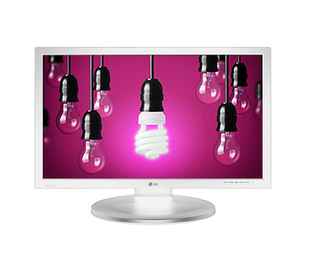 "22"" LG LED 22MB37PU-W- Full HD, VGA, HDMI, DVI"