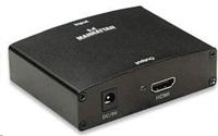 MANHATTAN Adaptér VGA - HDMI (převodník audio/video)