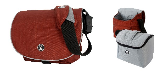 Crumpler NEW DELHI 390 - rust red / silver