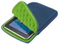 "TRUST Pouzdro na tablet 7"" Anti-shock bubble sleeve - blue, modré"
