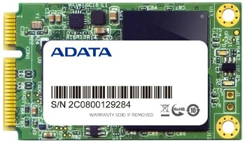ADATA SSD XPG SX300 128GB mSATA SATA3 MLC (čtení: 550MB/s; zápis: 505MB/s)