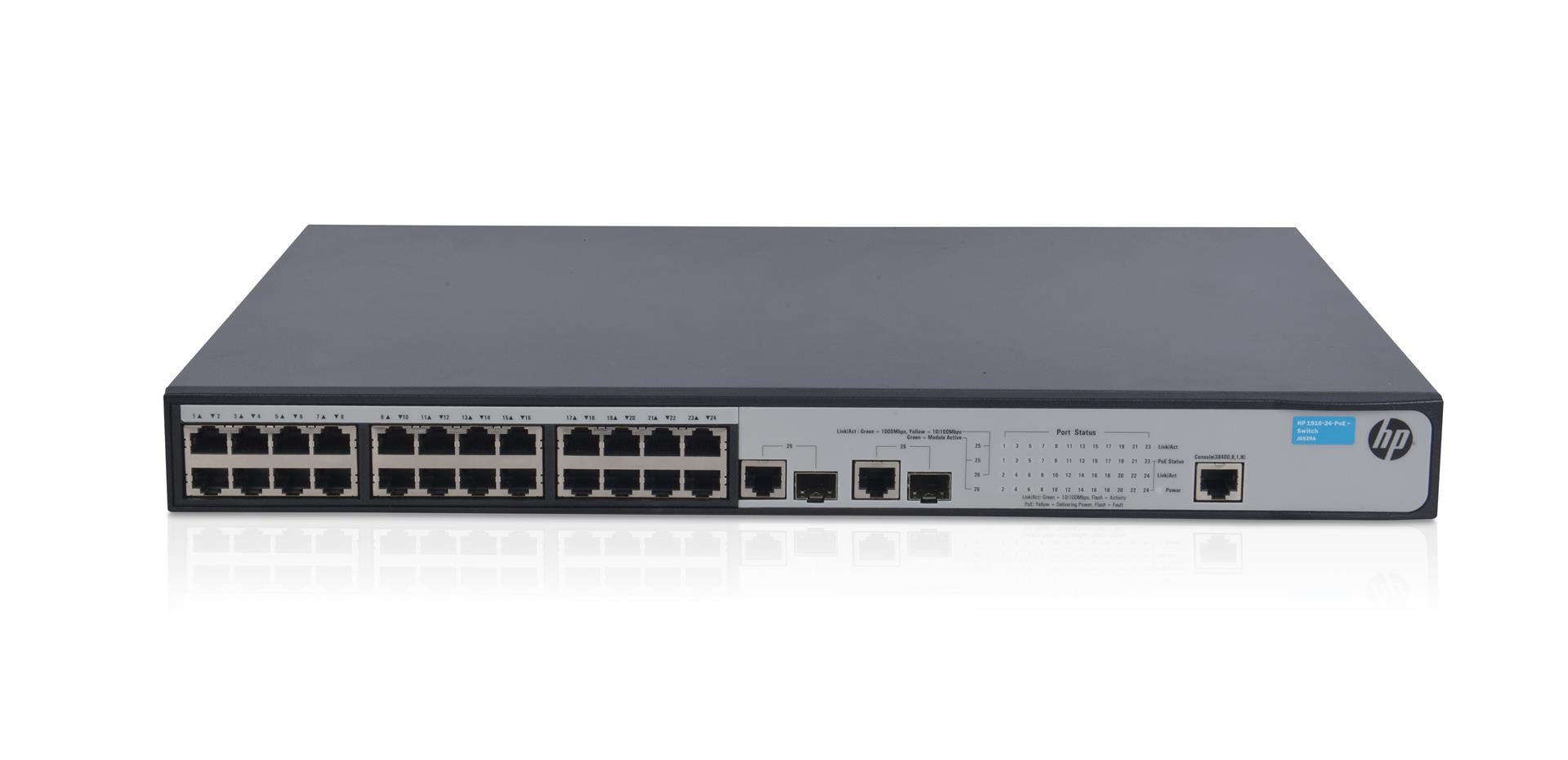 HPE 1910 24 PoE+ Switch