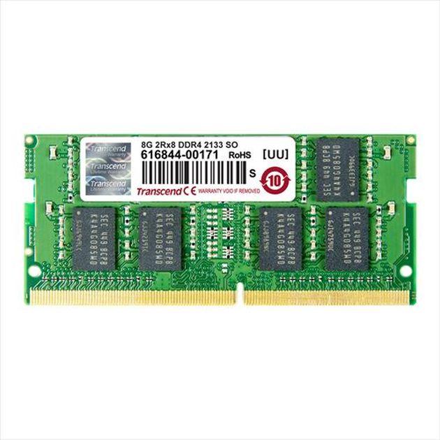 Transcend paměť 4GB SODIMM DDR4 2133MHz 1Rx8 CL15