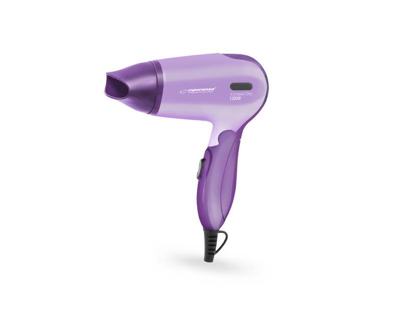 Esperanza EBH001V APHRODITE vysoušeč vlasů 1200W, fialový