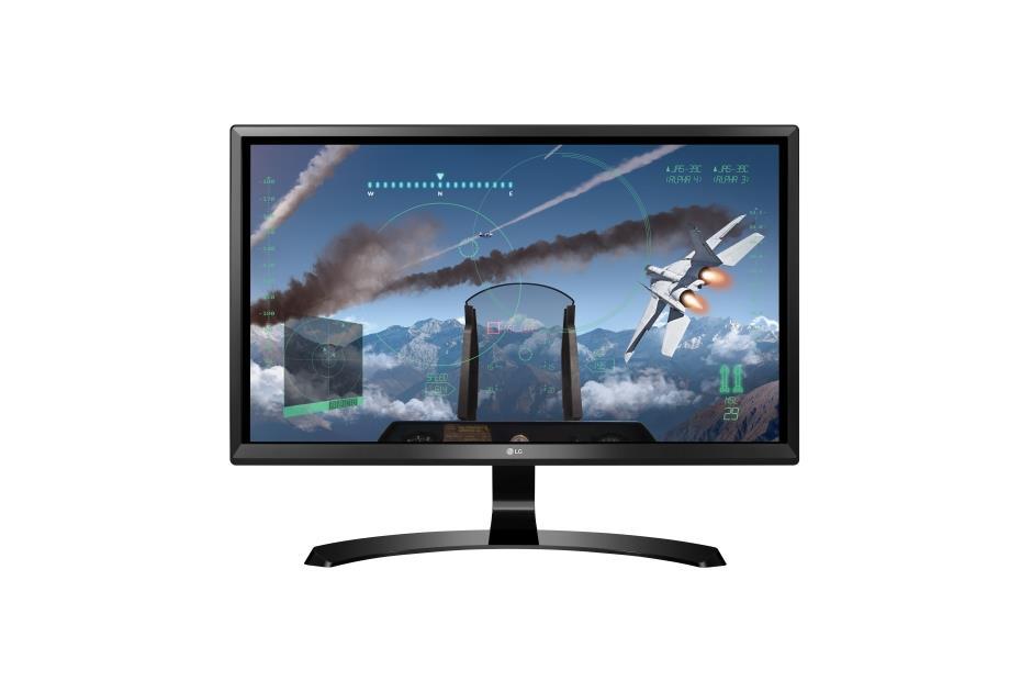 Monitor LG 24UD58-B Ultra HD 4K Display, IPS, FreeSync, HDMI,