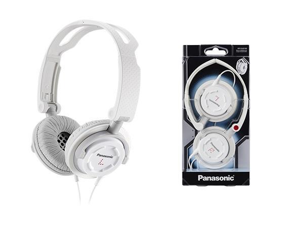Sluchátka Panasonic RP-DJS150E-W, bílá