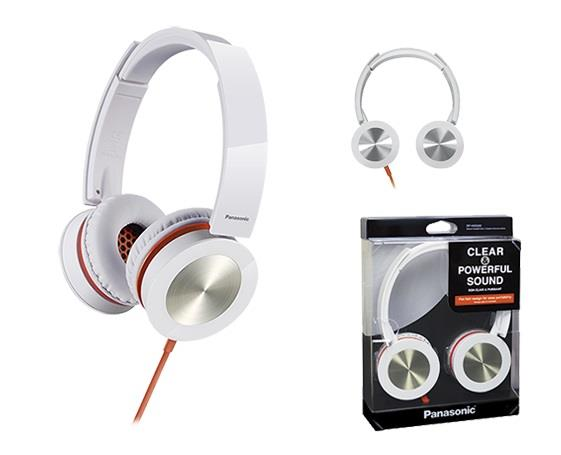 Sluchátka Panasonic RP-HXS400E-W, bílá