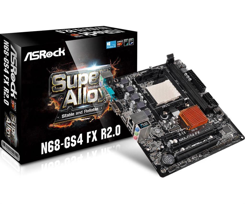 ASRock Super Alloy GS4 FX R2.0, DDR3 1866, 1 PCIe x16, 1 PCIe x1, 1 PCI