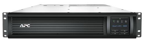 APC Smart-UPS 3000VA LCD RM 2U - černá, 2,7 kW, hloubka 68 cm + AP9631