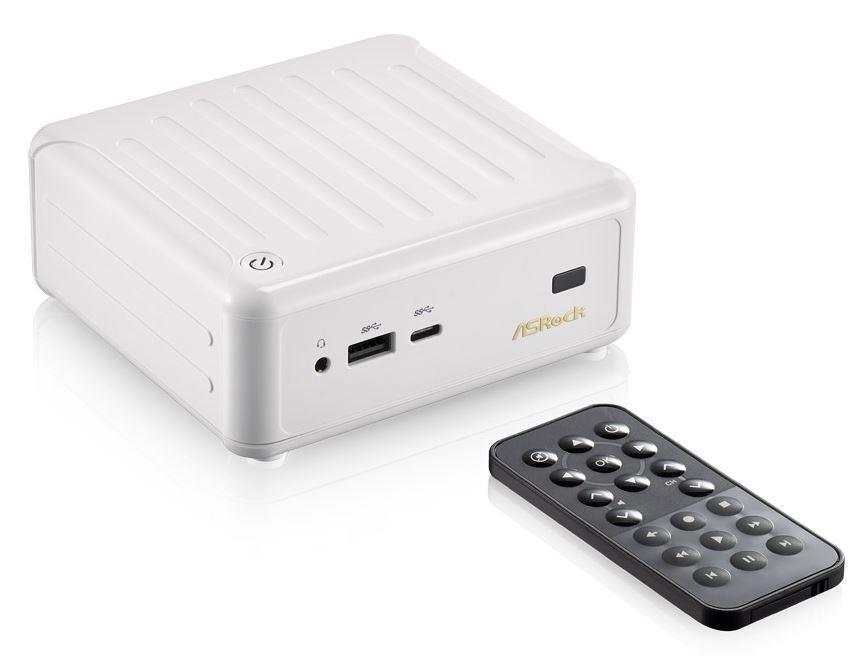 ASRock BEEBOX N3000-4G128S/W, N3000, 4GB DDR3L-1600, 128GB mSATA SSD, bílý