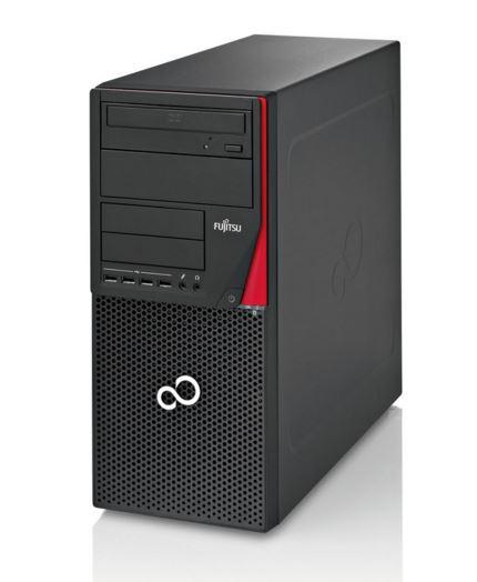 Fujitsu ESPRIMO P756 E90+/i7-6700/8GB DDR4/256GB SSD/CardReader/DRW/TPM/KB410 USB/USB mouse/Win10Pro+Win7Pro