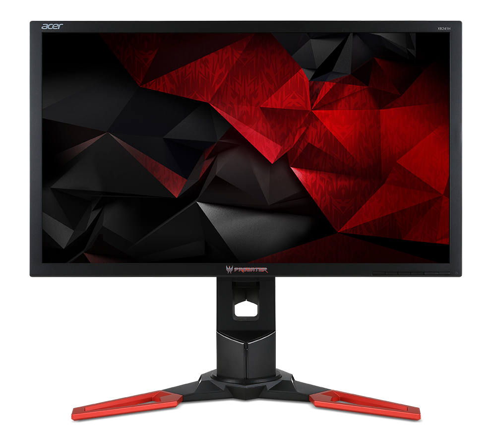 "Acer LCD Predator XB241Hbmipr 24"" G-SYNC LED/ FHD 1920x1080@144Hz 100M:1/1ms/HDMI/DP/Black"