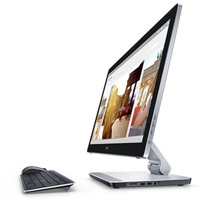 "DELL Inspiron One 24 7459 23,8"" Touch/Full HD/i7-6700HQ/12GB/32GB SSD+1TB/4GB Nvidia 940M/Realsense/Win 10 MUI"