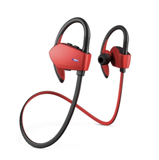 Energy Earphones Sport 1 Bluetooth Red, Bluetooth sluchátka s mikrofonem