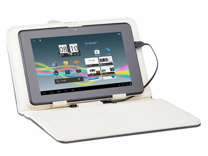 Tracer Street pouzdro pro tablet 9.7'', polyester, béžové