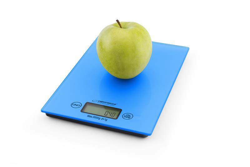 Esperanza EKS002B LEMON kuchyňská váha, modrá