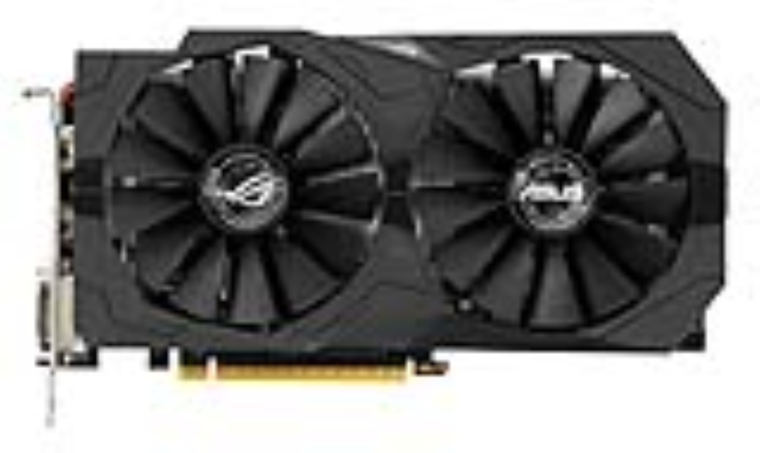 ASUS STRIX-GTX1050-2G-GAMING - 2GB GDDR5 (128 bit), HDMI, 2x DVI, DP