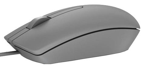 Dell optická myš MS116 (2 tlačítka + rolovací) USB šedá