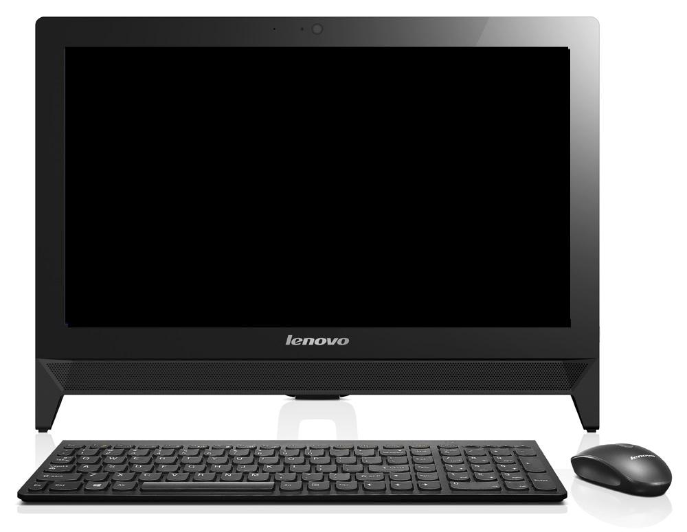 """Lenovo IdeaCentre AIO C20-00 Celeron J3060 2,48GHz/4GB/500GB/19,5"""" HD+/DVD-RW/DOS černá F0BB00VTCK"""